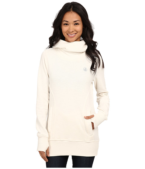 Volcom Snow - Tower Pull Over Fleece (White) Women's Fleece