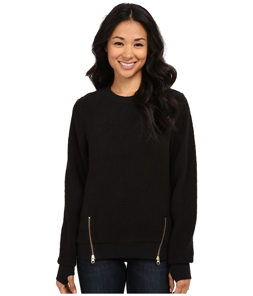 Volcom Snow - Butter Pull Over Fleece (Black) Women's Fleece