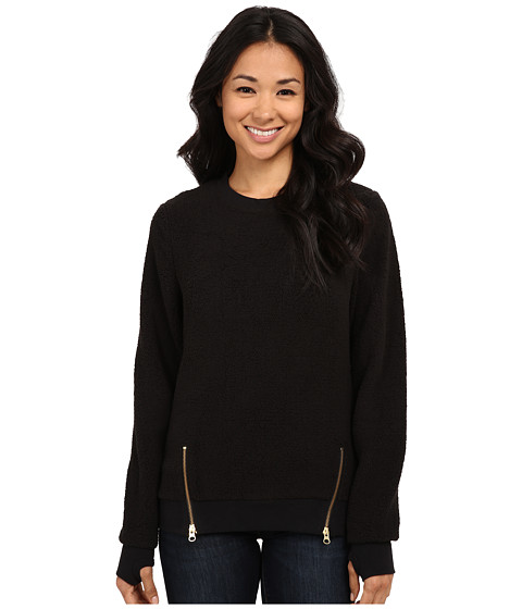 Volcom Snow - Butter Pull Over Fleece (Black) Women