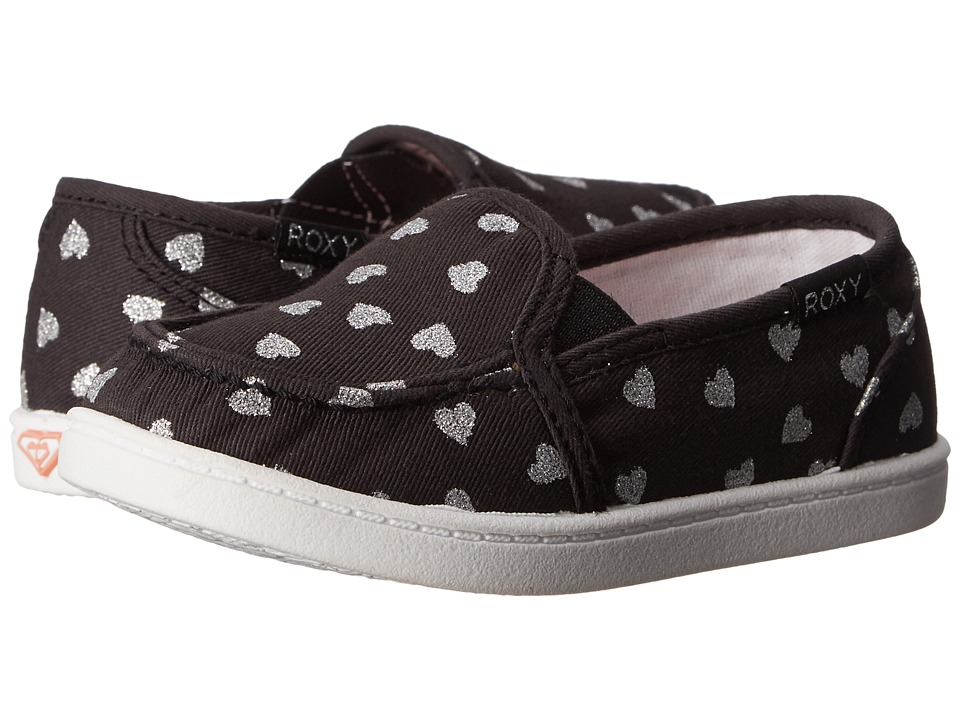 Roxy Kids - Lido III (Toddler) (Black/White Fade) Girl's Shoes