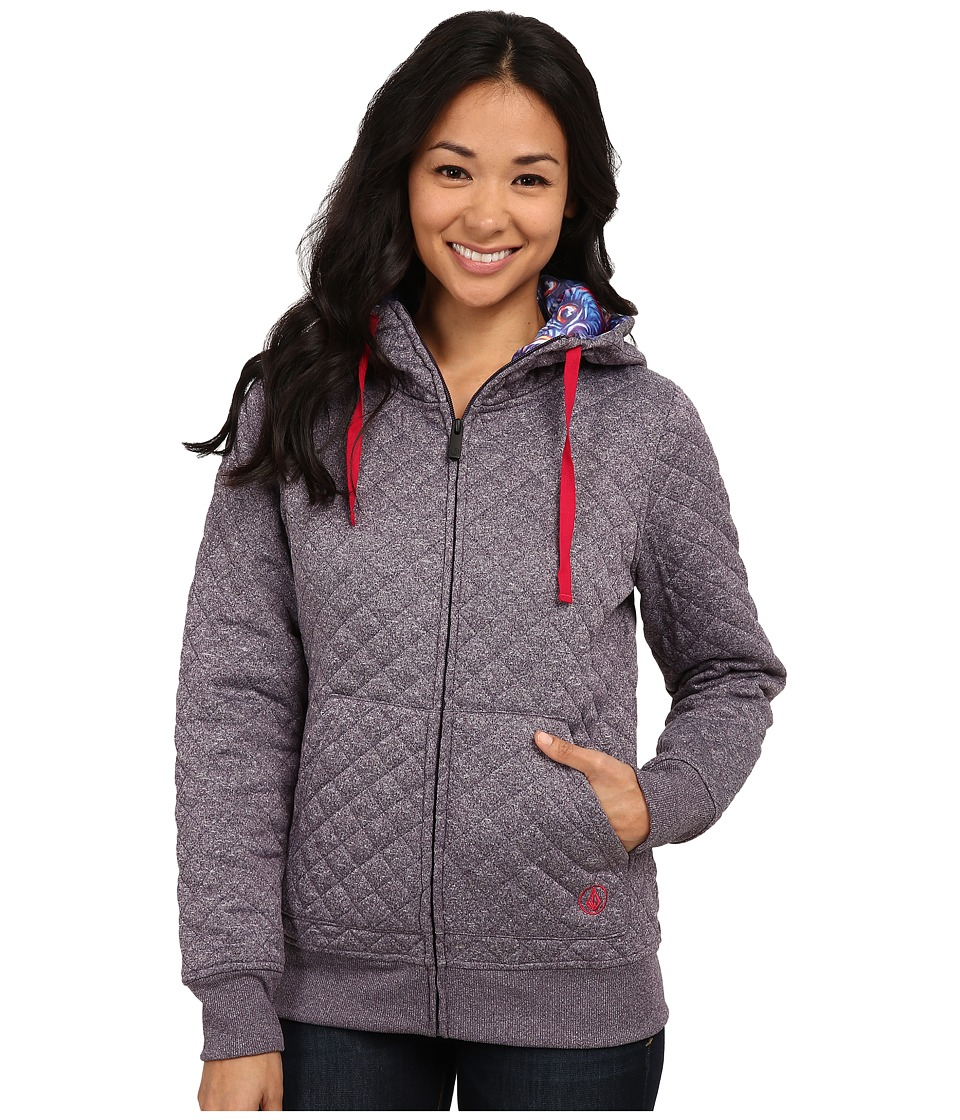 Volcom Snow - Tansy Quilted Fleece (Purple) Women
