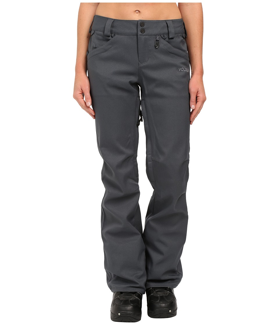 Volcom Snow - Species Stretch Pants (Charcoal) Women's Outerwear