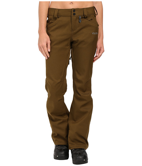 Volcom Snow - Species Stretch Pants (Olive) Women's Outerwear