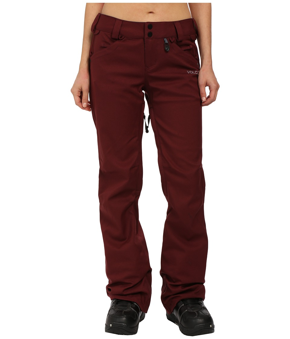 Volcom Snow - Species Stretch Pants (Port) Women's Outerwear