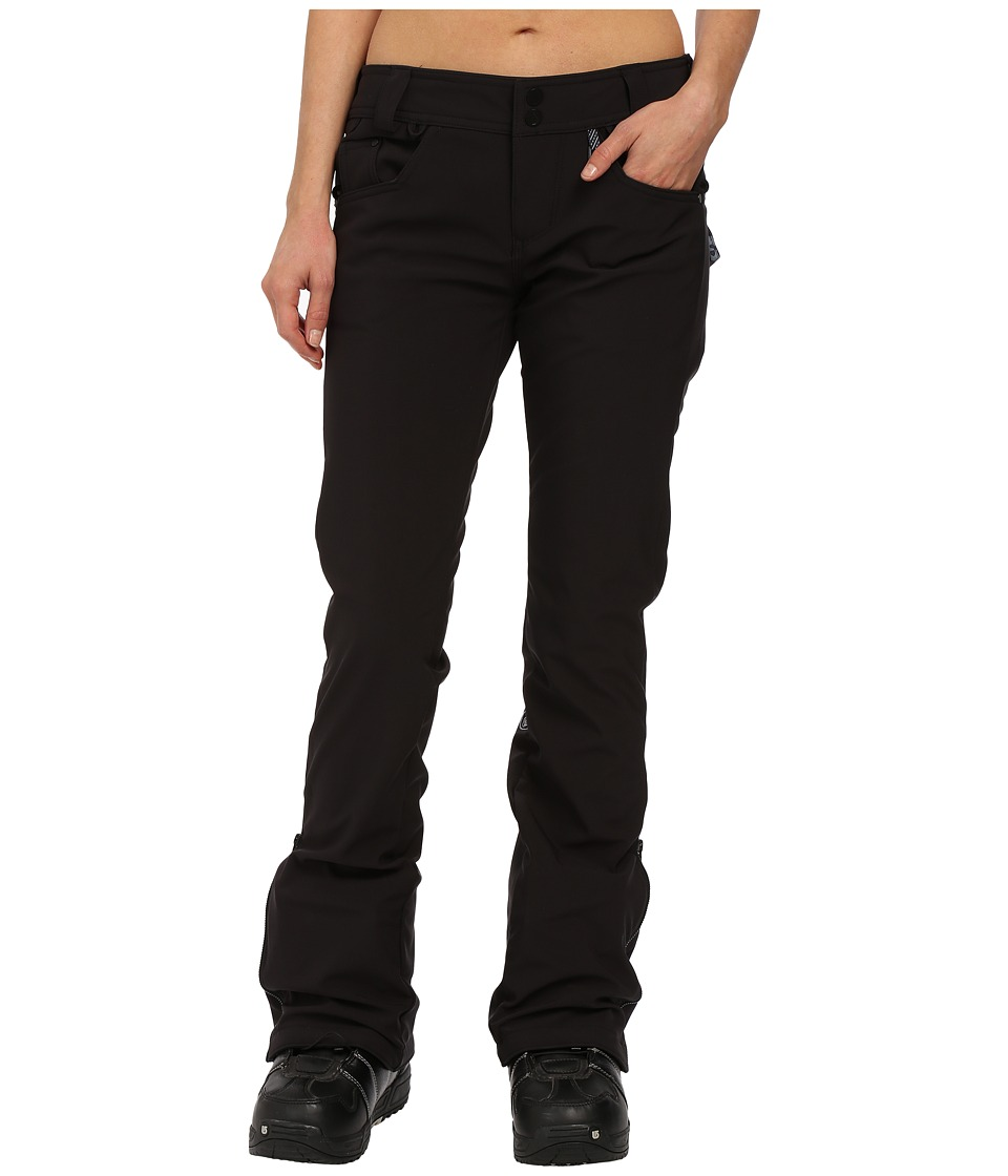 Volcom Snow - Battle Stretch Pants (Black) Women's Clothing