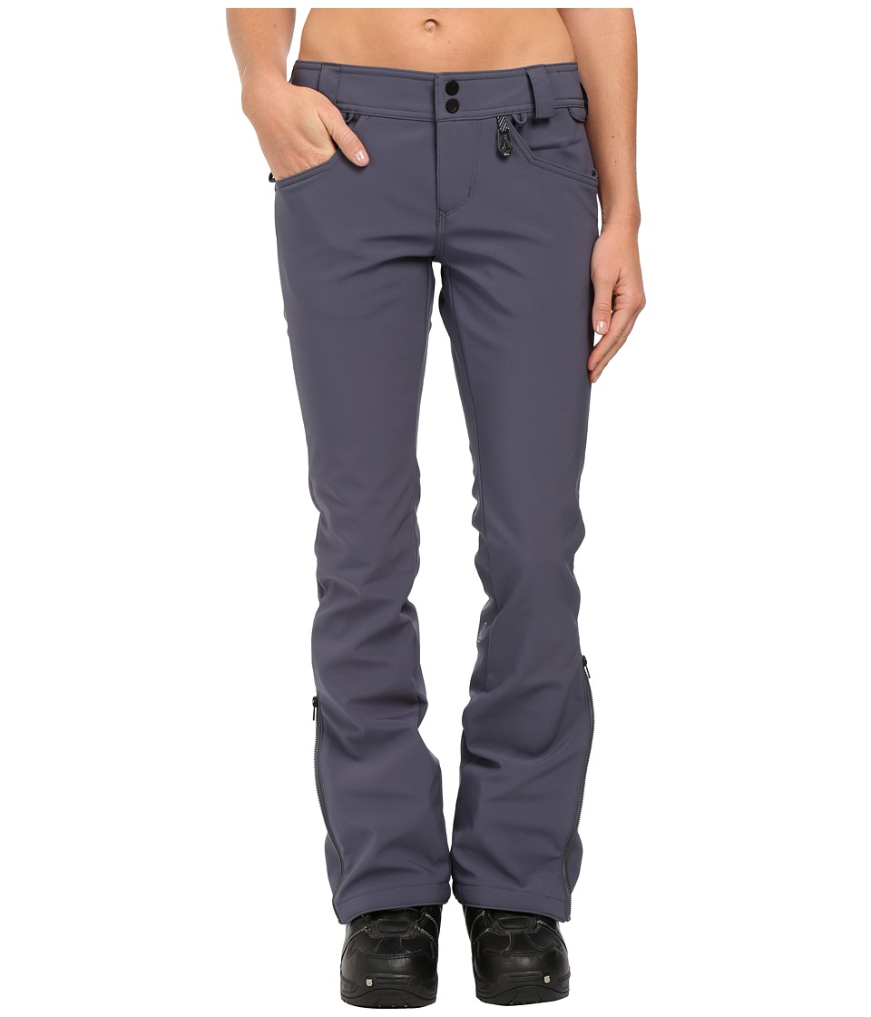 Volcom Snow - Battle Stretch Pants (Charcoal) Women's Clothing