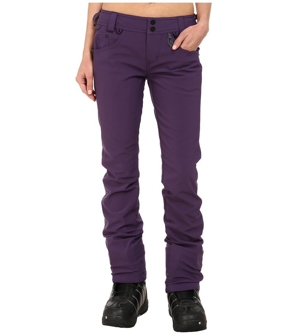 Volcom Snow - Battle Stretch Pants (Purple) Women