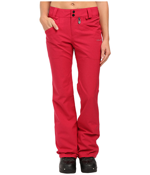 Volcom Snow - Transfer Pants (Maroon) Women's Outerwear