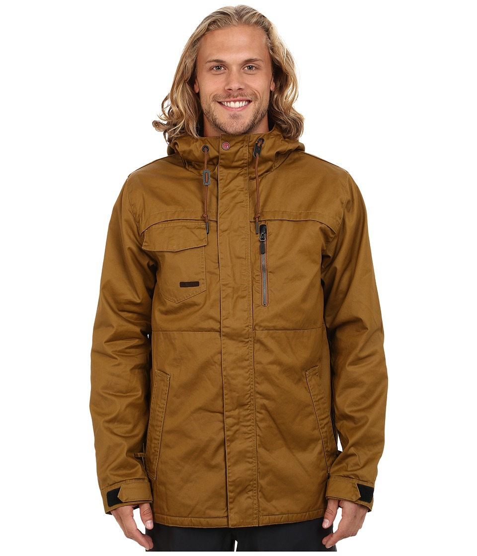 Volcom Snow - Monrovia Insulated Jacket (Caramel) Men's Coat