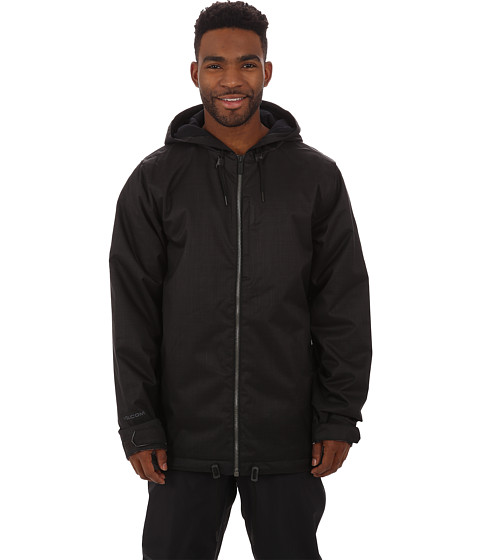 Volcom Snow - Patch Insulated Jacket (Black) Men's Coat