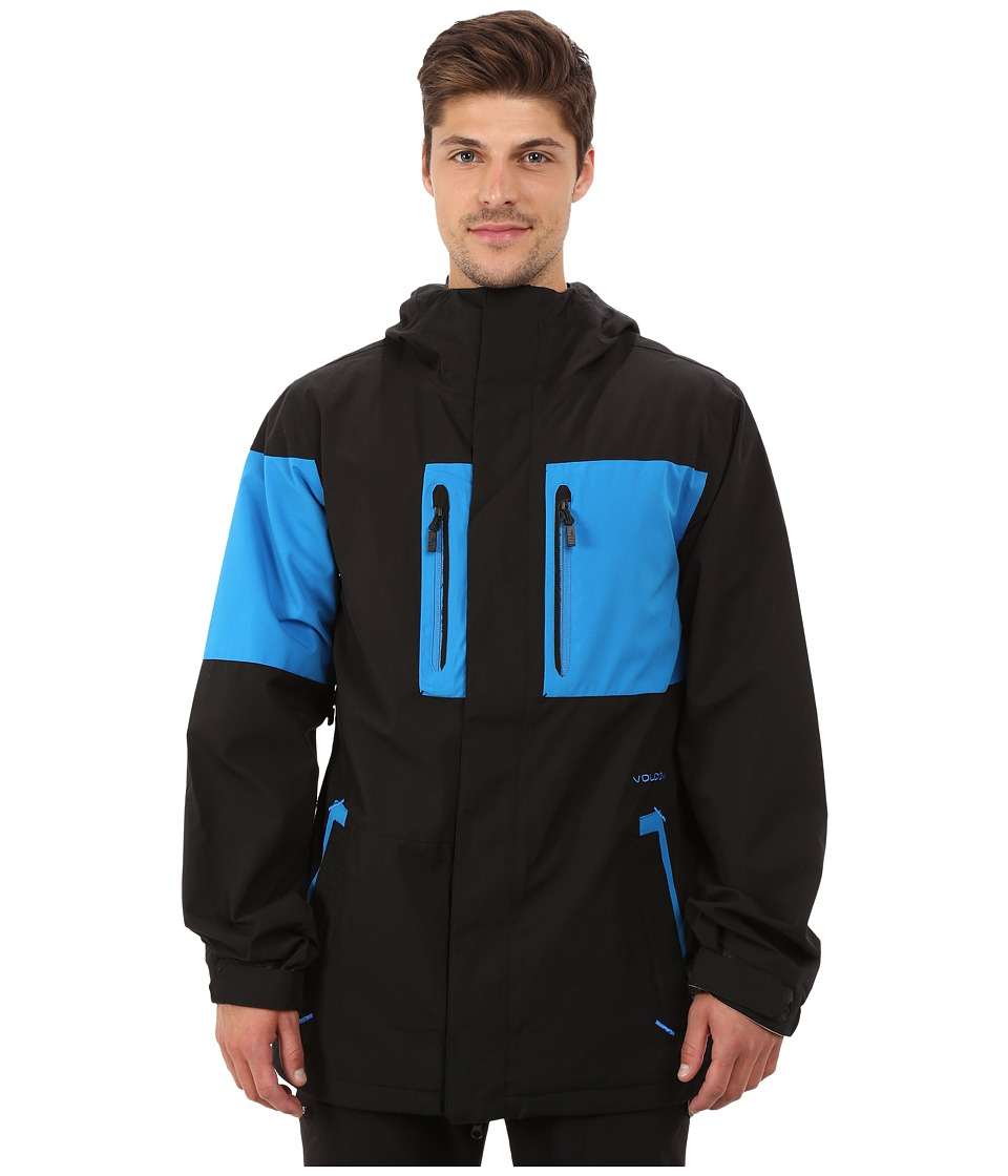 Volcom Snow - Half Square Jacket (Cyan) Men's Coat