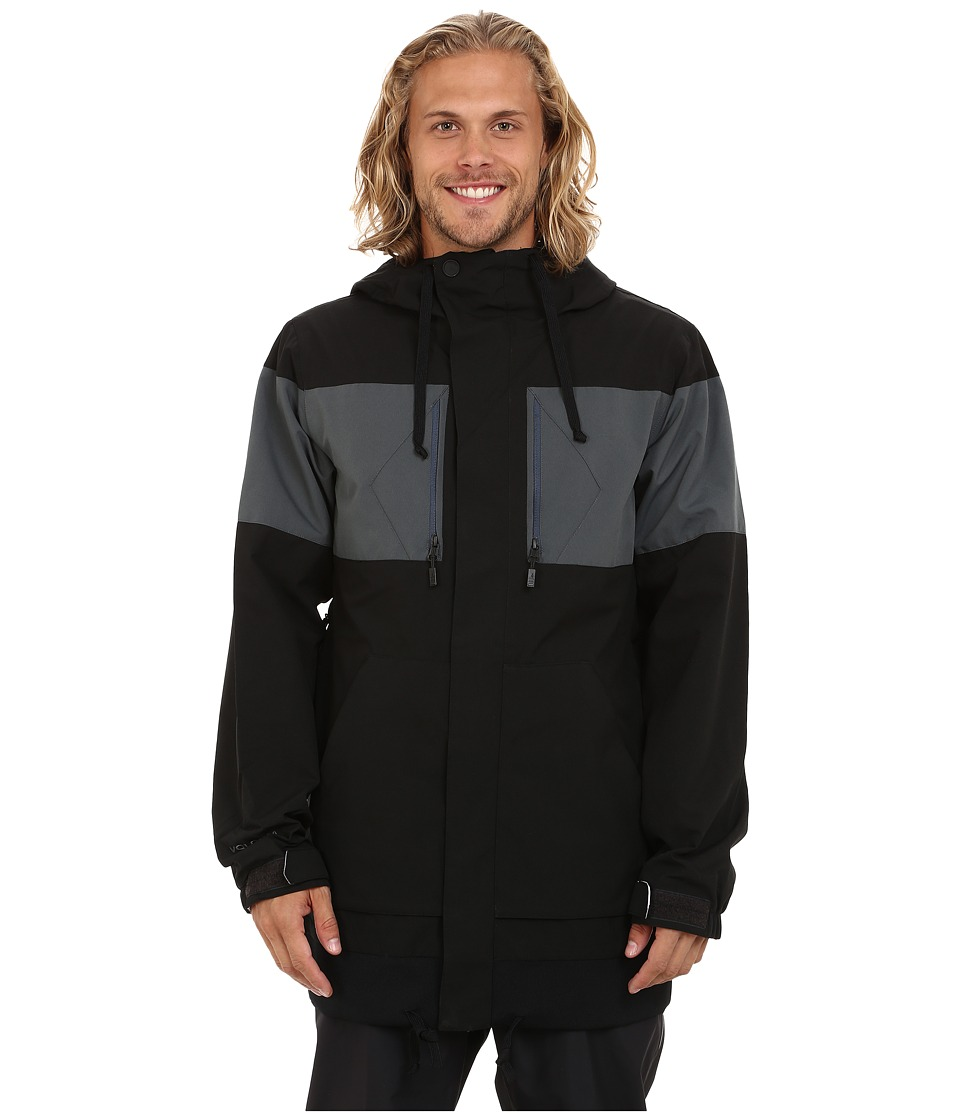 Volcom Snow - CP3 Jacket (Black) Men's Coat