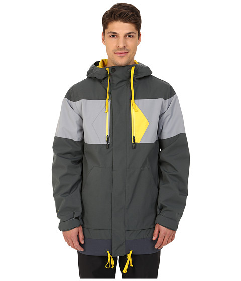 Volcom Snow - CP3 Jacket (Charcoal) Men's Coat