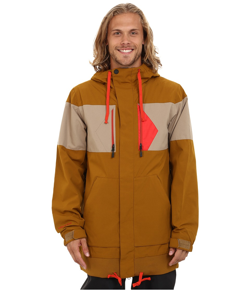 Volcom Snow - CP3 Jacket (Caramel) Men's Coat