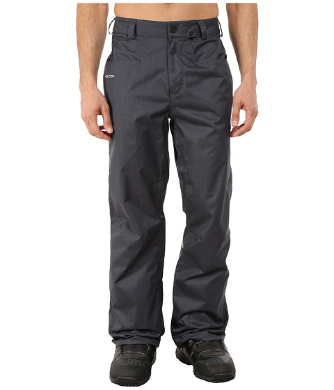 Volcom Snow - Carbon Pants (Charcoal) Men's Clothing