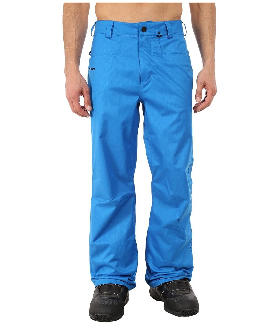 Volcom Snow - Carbon Pants (Cyan) Men's Clothing