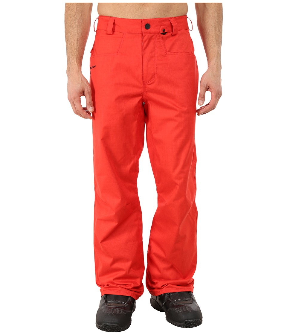 Volcom Snow - Carbon Pants (Orange) Men's Clothing