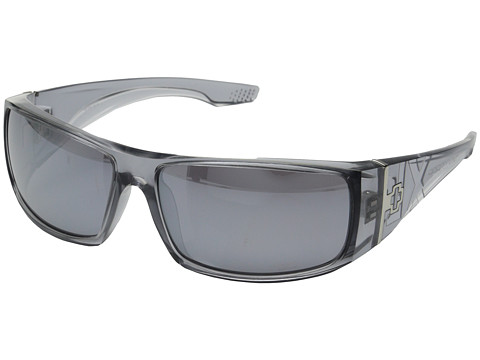 Spy Optic - Cooper XL (Smoke/Gray w/Silver Mirror) Sport Sunglasses