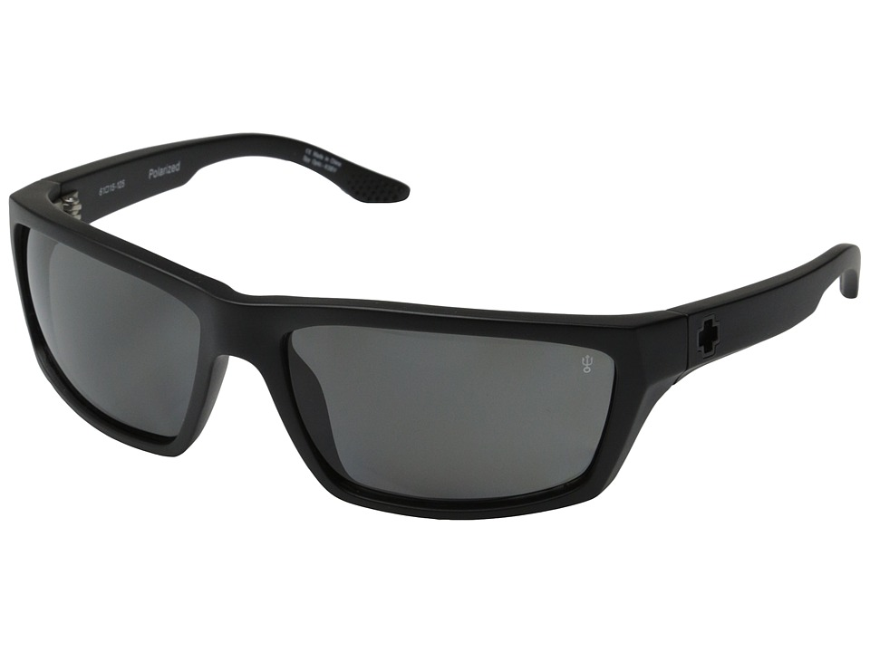 Spy Optic - Kash (Matte Black/Gray Polar) Sport Sunglasses