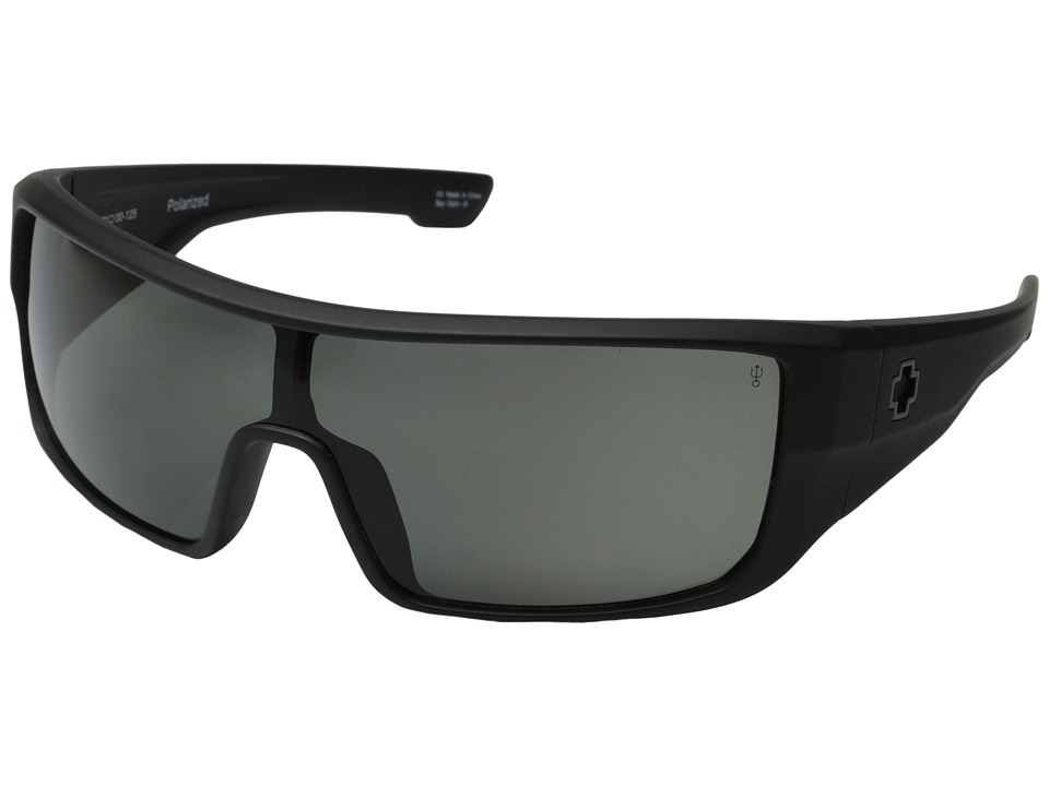 Spy Optic - Carbine Matte Black (Gray Polar) Sport Sunglasses