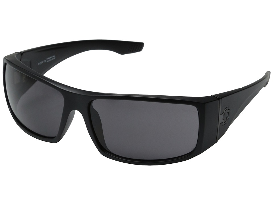 Spy Optic - Cooper XL (Matte Black/Gray) Sport Sunglasses