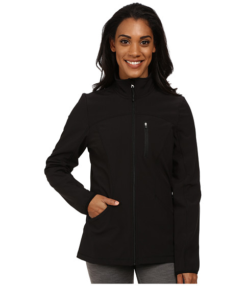 Fila - Uplands Jacket (Black/Black) Women's Coat