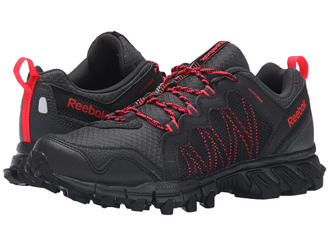 Reebok - Trail Grip 4.0 RS (Black/Gravel/Neon Cherry) Women