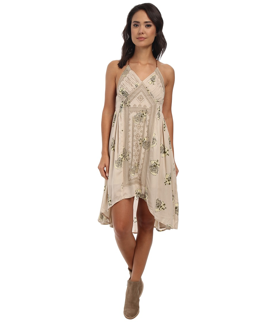 Free People - Fauna Midi Dress (Tea Combo) Women's Dress