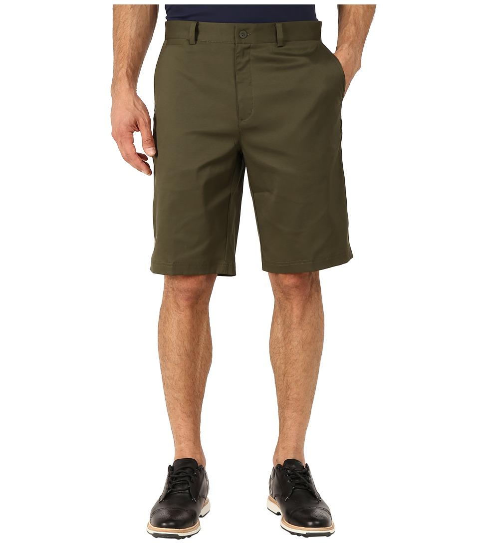 Nike Golf - Flat Front Short (Cargo Khaki/Cargo Khaki/Cargo Khaki) Men