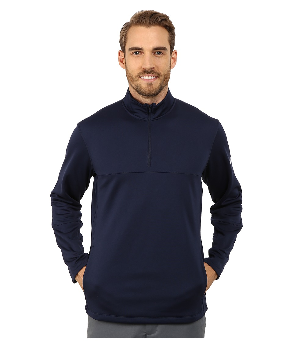 Nike Golf - Therma-FIT Cover-Up (College Navy/College Navy/College Navy/Wolf Grey) Men's Sweatshirt