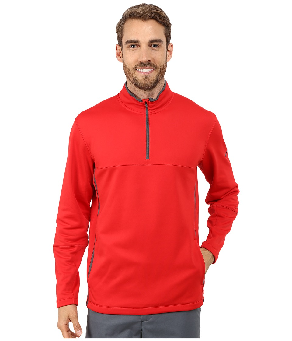 Nike Golf - Therma-FIT Cover-Up (University Red/Dark Grey/University Red/Anthracite) Men's Sweatshirt