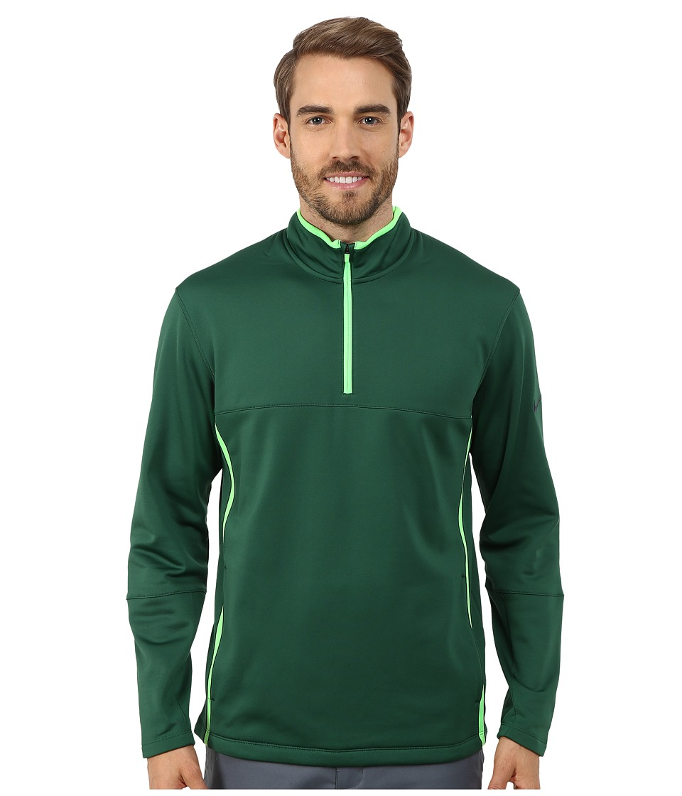 Nike Golf - Therma-Fit Cover-Up (Gorge Green/Green Strike/Gorge Green/Anthracite) Men