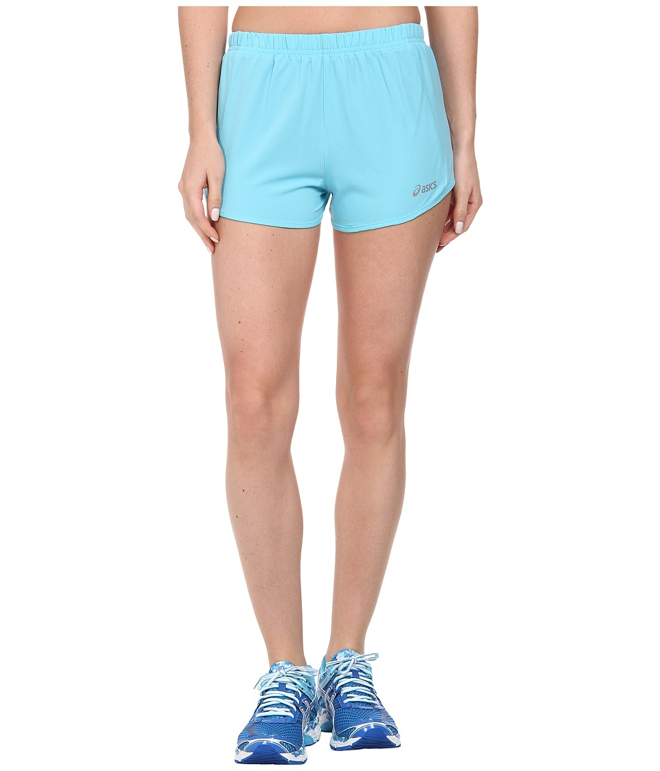 ASICS - Speed Short (Aquarium/Blazing Yellow) Women's Shorts