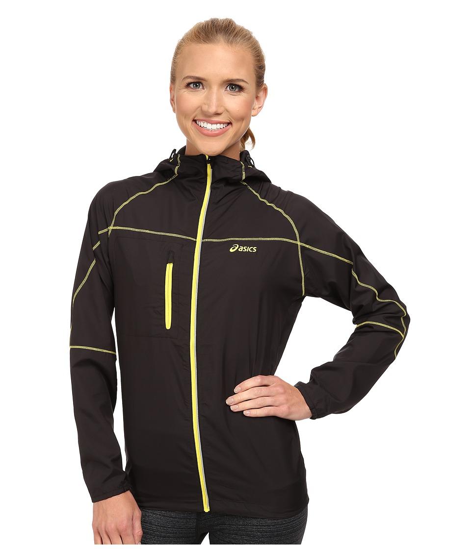 ASICS - Fuji Packable Jacket (Performance Black/Chive) Women's Coat