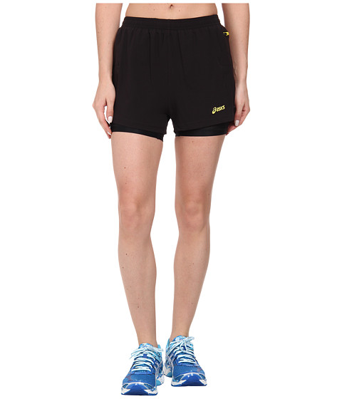 ASICS - Fuji 2-N-1 Short (Performance Black) Women's Shorts