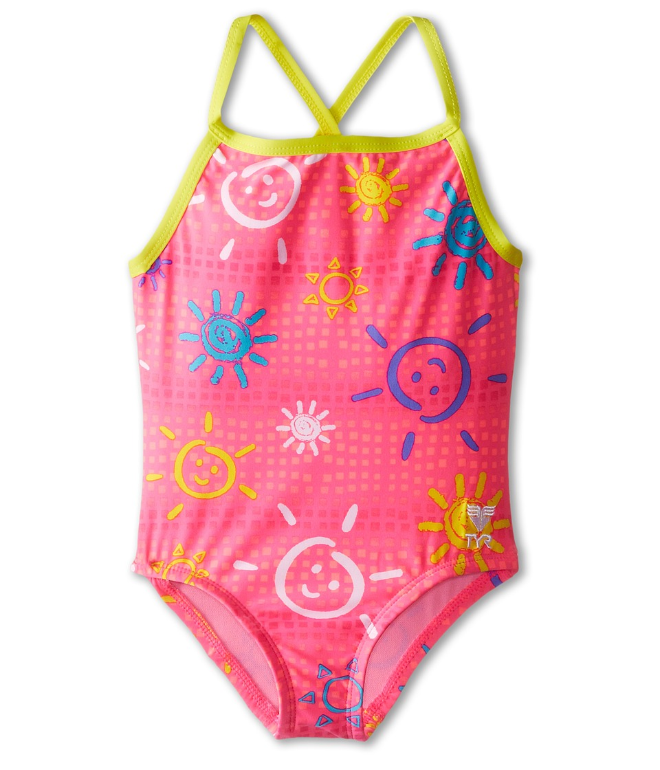 TYR - Sunbeam Diamondfit (Toddler/Little Kids/Big Kids) (Pink) Women's Swimsuits One Piece