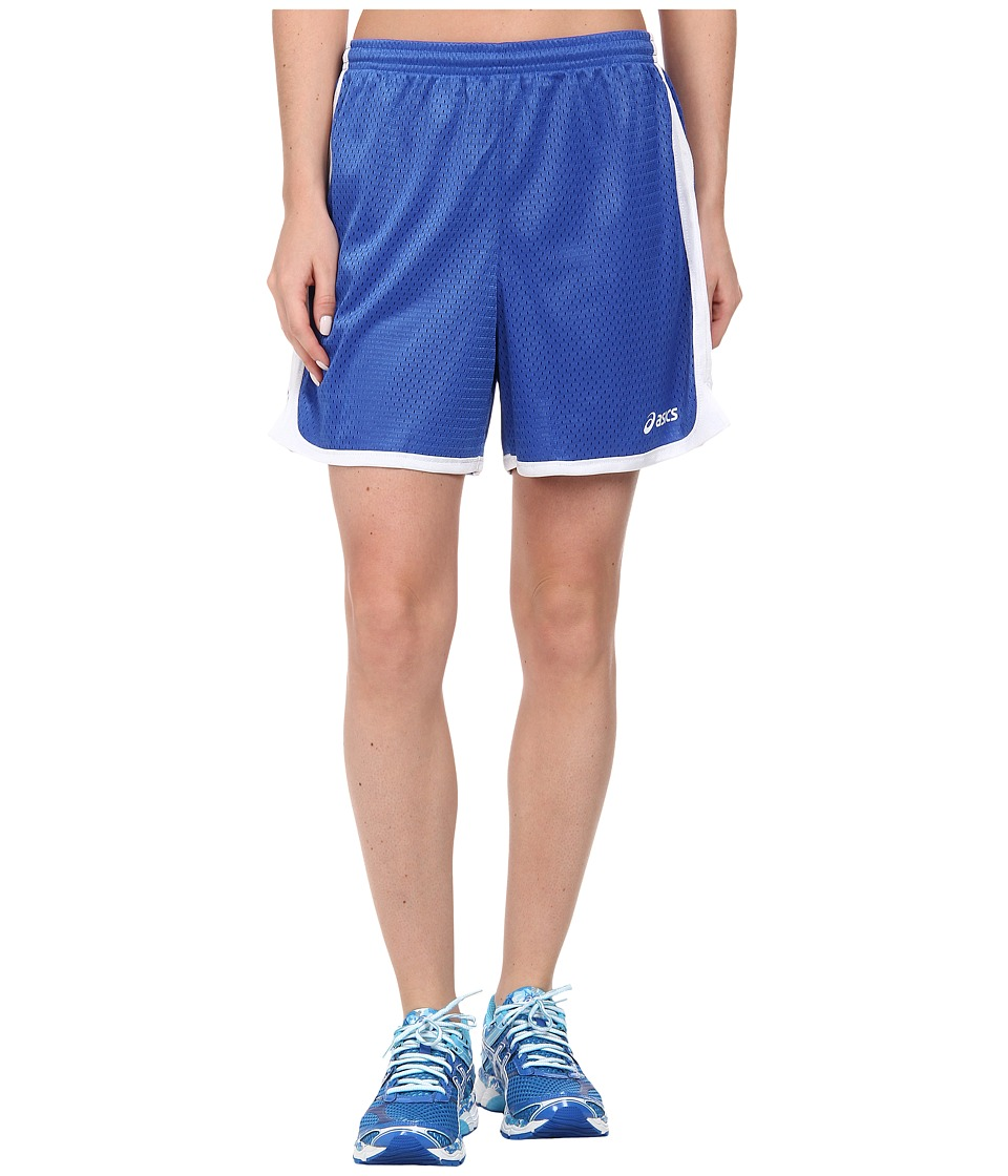 ASICS - Team 5 Mesh Shorts (Royal) Women