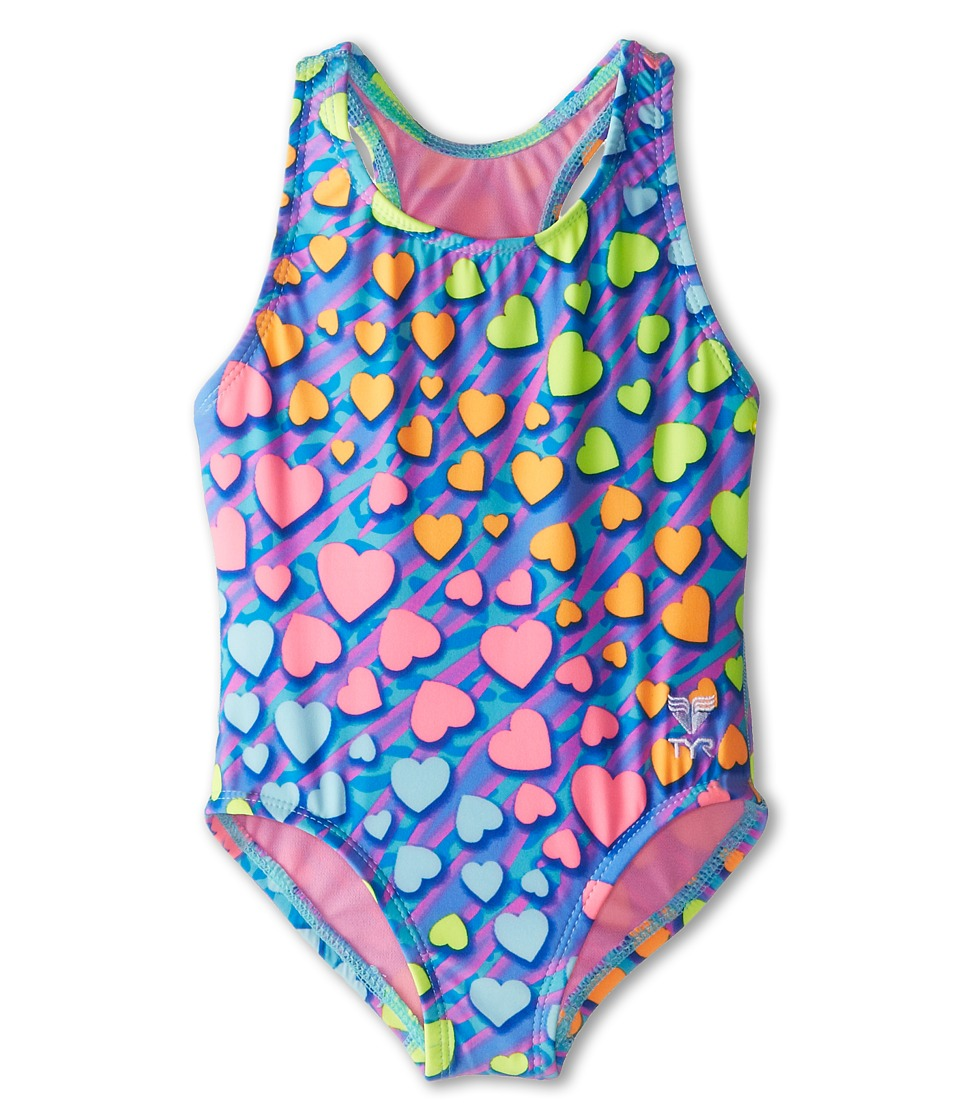 TYR - Love Club Maxfit (Toddler/Little Kids/Big Kids) (Multi) Women's Swimsuits One Piece