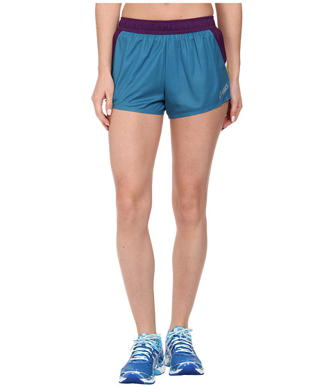 ASICS - Kayano Short (Blue/Plum) Women's Shorts