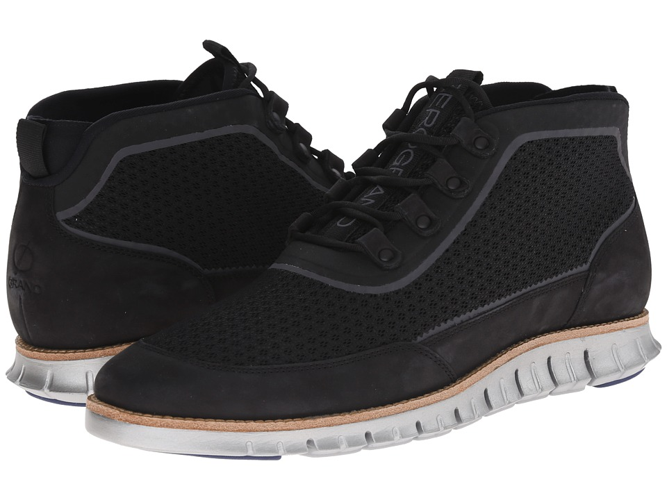Cole Haan - Zerogrand Sport Chukka (Black) Men's Lace up casual Shoes