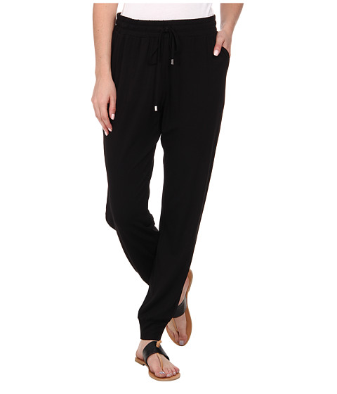 Jones New York - Easy Track Pants (Black) Women