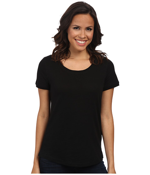 Jones New York - Scoop Neck Top (Black) Women's Clothing