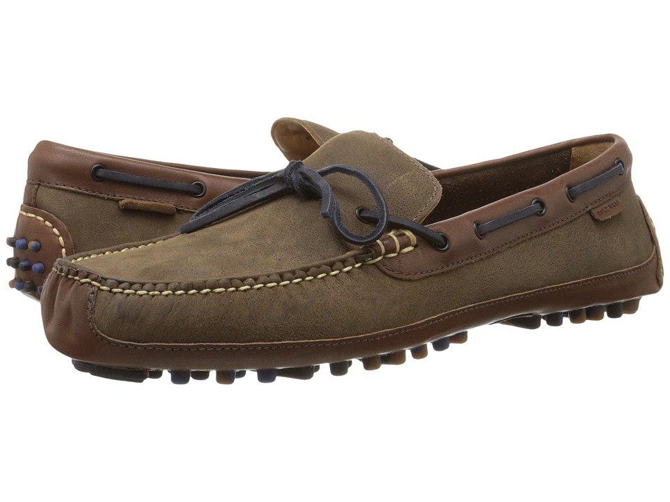 Cole Haan - Grant Canoe Camp Moc (Partridge) Men's Slip on Shoes