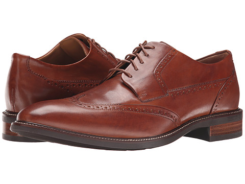 Cole Haan - Warren Wing Ox (British Tan) Men