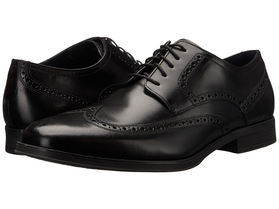 Cole Haan - Montgomery Wing Ox (Black) Men's Lace Up Wing Tip Shoes