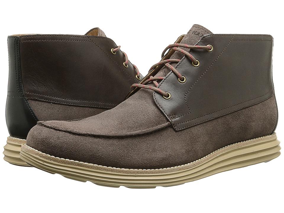 Cole Haan - Lunargrand Moc Chukka (Chestnut Suede) Men's Boots