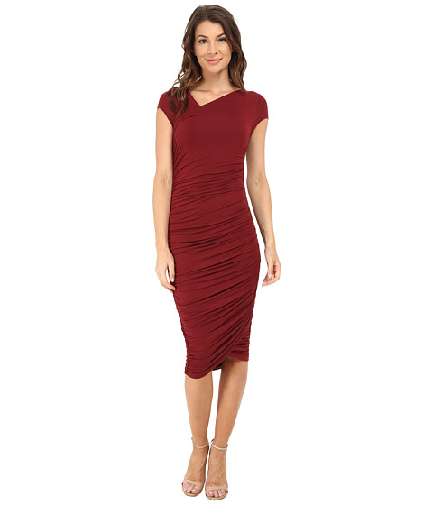 Bailey 44 - Primose Dress (Burgundy) Women