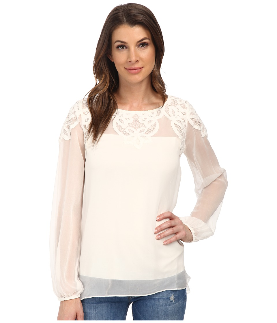 Bailey 44 - Moth Orchid Top (Chalk) Women's Blouse