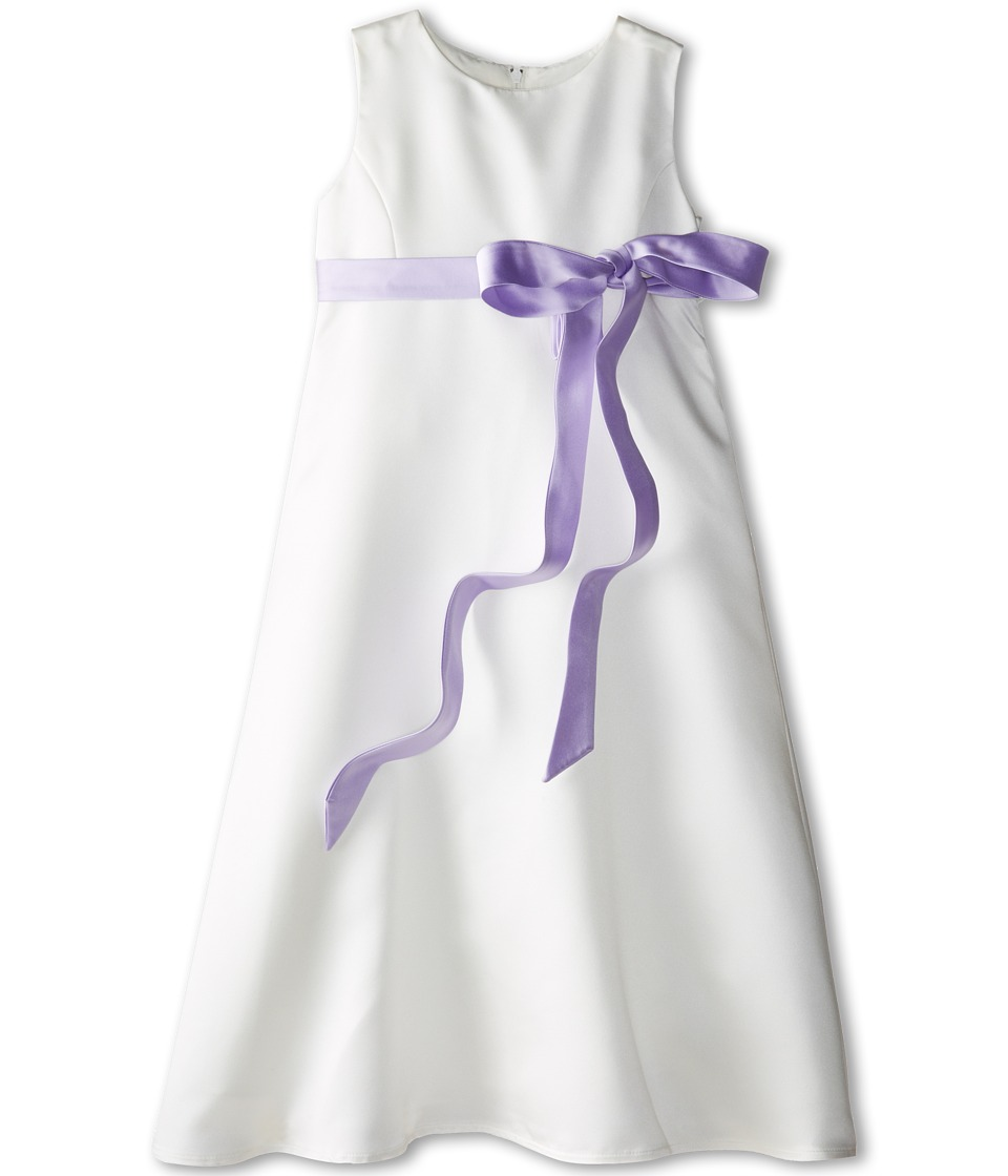 Us Angels - Satin A-Line Dress (Little Kids) (Lilac) Girl's Dress