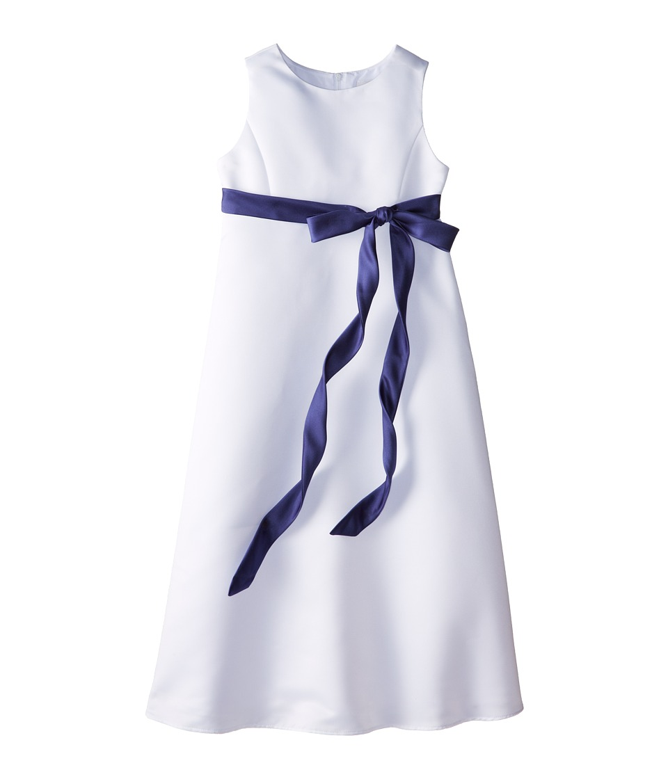 Us Angels - Satin A-Line Dress (Big Kids) (New Pruple) Girl's Dress